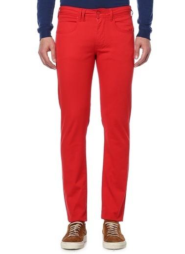 Cycle Denim Pantolon Kırmızı